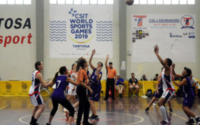 The World Sports Games Tortosa 2019 competitions' have already begun